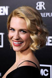 January Jones Gets Sexy Next to Jon Hamm at Mad Men's Big Premiere
