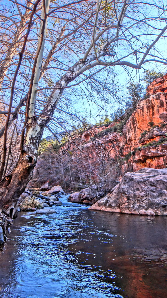 Oak Creek in HDR Painting