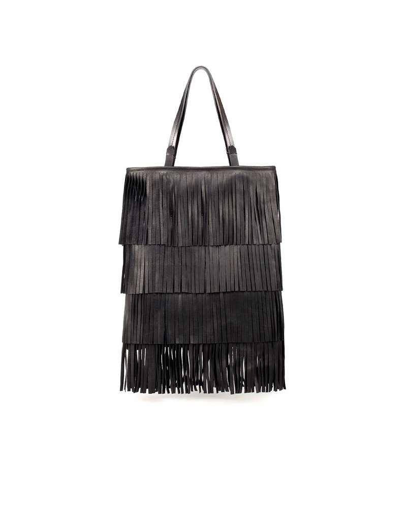 Zara Fringed Shopper ($169)