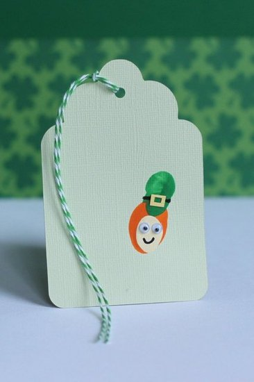 Leprechaun Bookmark (or Gift Tag)