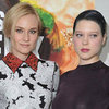 La Seydoux Dyes Her Hair Dark