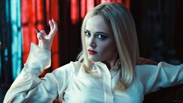 Eva Green as Angelique Bouchard in Dark Shadows.  Photo courtesy of Warner Bros.
