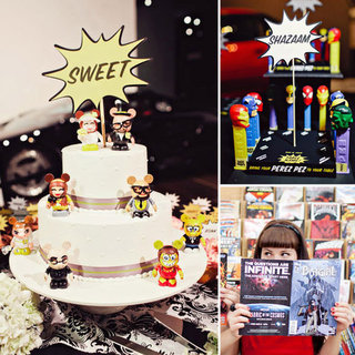 Comic Book-Inspired Weddings