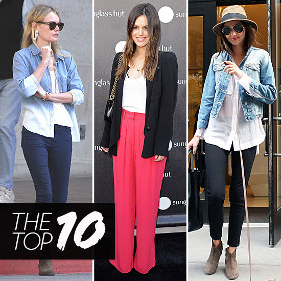 Fab's Top 10 Celebrity Looks of the Week — Miranda, Kate, Rachel and More!