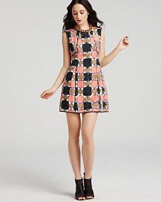 Tibi Dress - Basket Weave - New Arrivals - Boutiques - Women's - Bloomingdale's