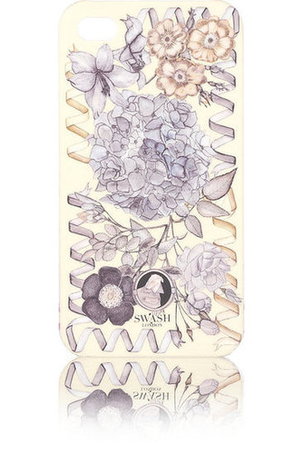 Swash Posey printed iPhone 4 case