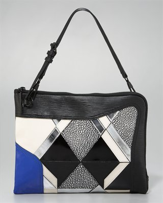 Axial Patchwork Clutch