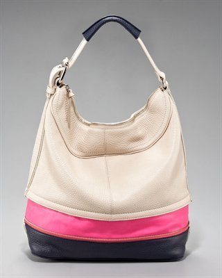 Mandy Colorblock Hobo