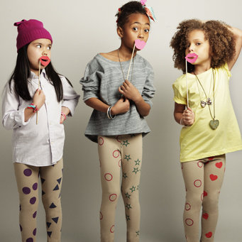 Girls leggings line: Create what you want!