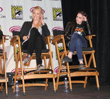 Charlize Theron and Kristen Stewart talked SWATH at WonderCon.
