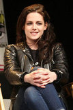 Kristen Stewart was at WonderCon.
