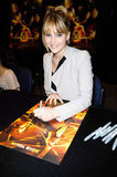 Jennifer Lawrence signed autographs during a fan event in Florida earlier this month.