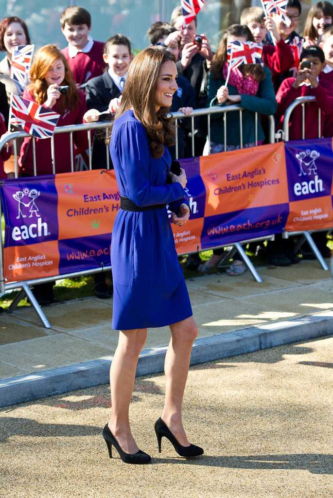 Kate Middleton gives her first public address.