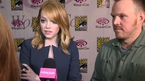 "Video: Emma Stone Praises Andrew Garfield's ""Daunting"" Spider-Man Acting"