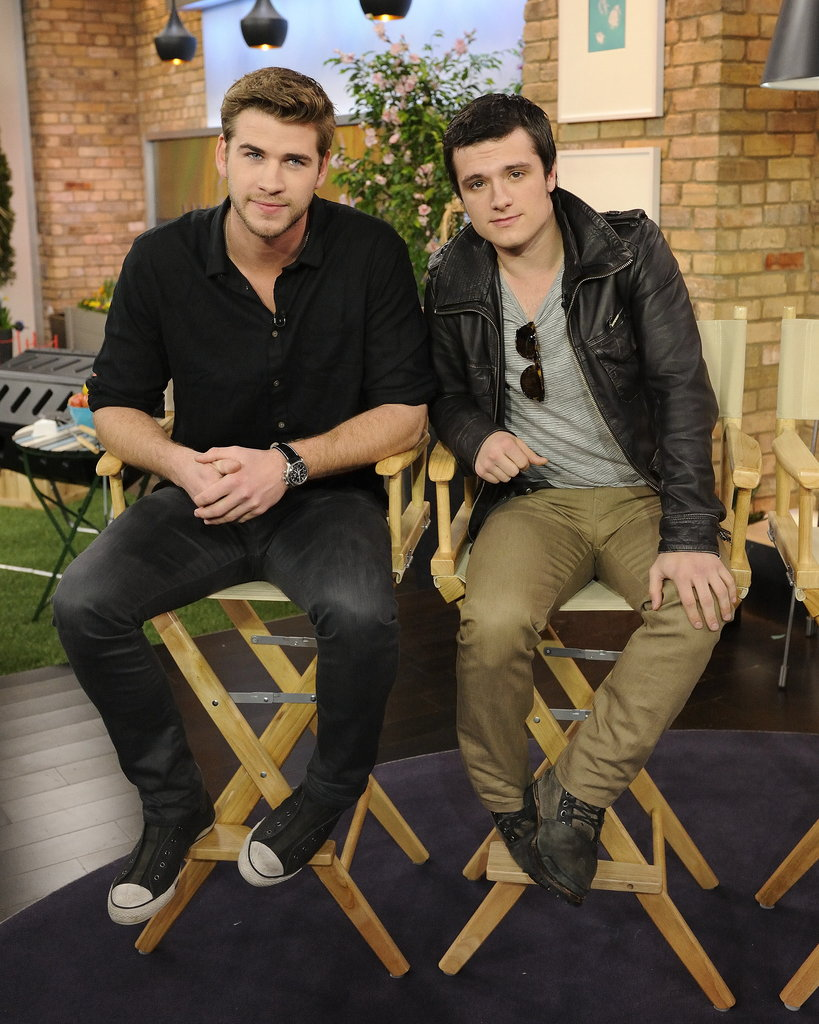 Liam Hemsworth and Josh Hutcherson have traveled around the globe promoting their project.