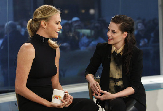 Charlize Theron and Kristen Stewart reunited in NYC today following an appearance together in LA on Saturday.