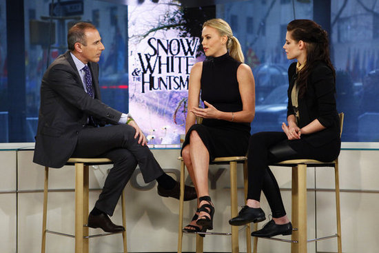 Matt Lauer chatted with Kristen Stewart and Charlize Theron about their upcoming project.