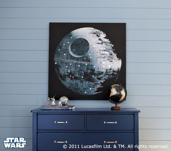 Death Star LED Artwork ($300)