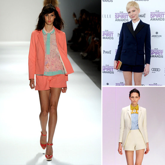 Shake Up a Spring '12 Trend: Pair Shorts + Blazers For a Fresh Look