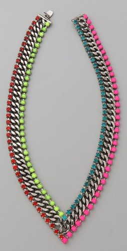 DANNIJO Hart V Necklace