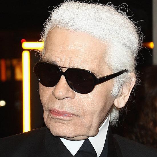 Karl Lagerfeld Uses Klorane Dry Shampoo to White His Hair