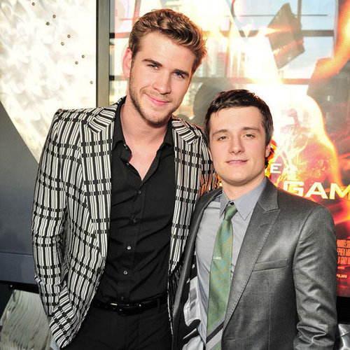 The Hunger Games Liam Hemsworth and Josh Hutcherson Pictures