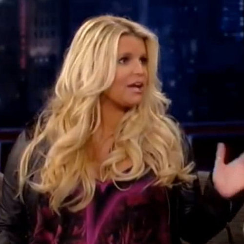 Pregnant Jessica Simpson Video Interview With Jimmy Kimmel on Baby Shower and Birth Plan