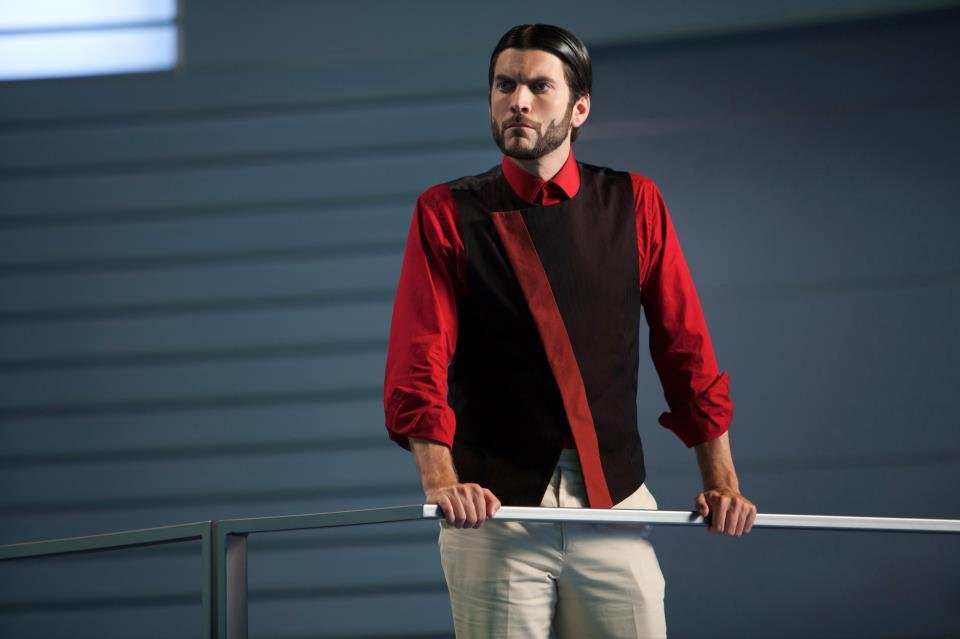 Wes Bentley as Seneca Crane in The Hunger Games.