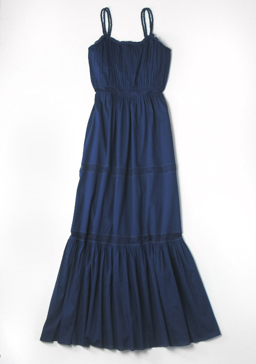 Alberta Ferretti for Macy's Impulse Navy Maxi Dress ($109)