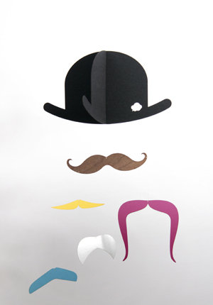 Jall and Tofta Mustache Mobile