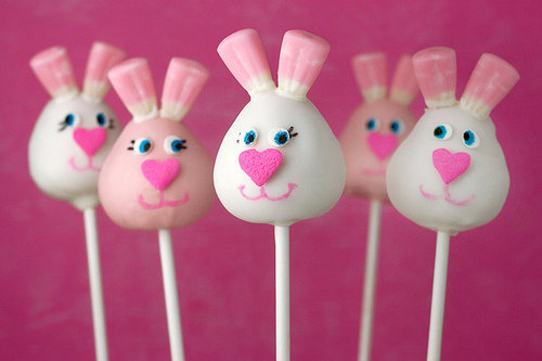 Bunny Cake Pops