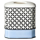 With a graphic, modern print, the Madrid Tissue Box Cover ($28) is a great pick for anyone who loves contemporary decor.