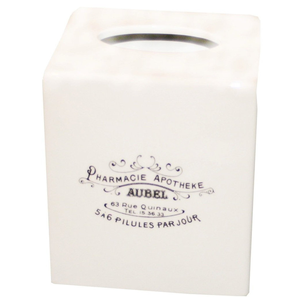 If you're into a more vintage style, this Apothecary Ceramic Cover ($33) is an ideal pick for your nine-to-five nook.
