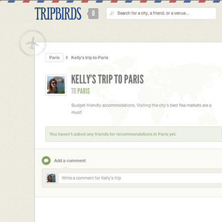 Tripbirds Travel Discovery Social Network