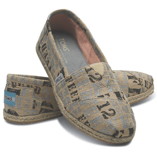 Check Out Toms and Feed Projects' Exclusive New Shoe Collab