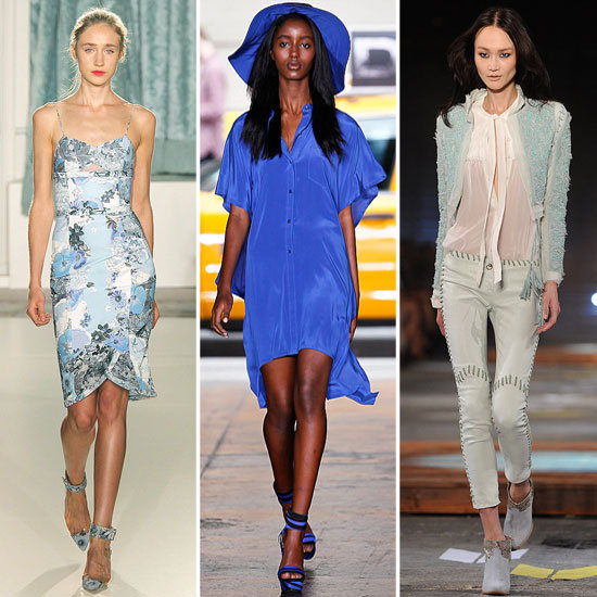 Colour Report: Shades of Blue