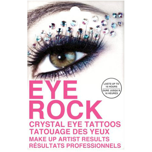 Eye Rock Sparkle Crystal Tattoos