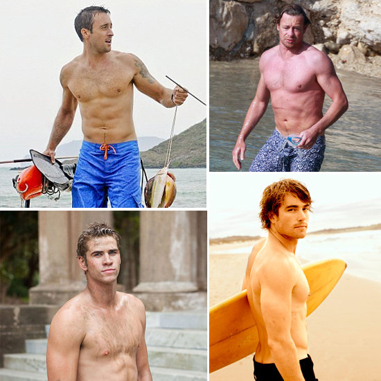 Pictures of the Hottest and Sexiest Top 10 Australian Shirtless Celebrities Liam and Chris Hemsworth, James Magnussen & More!