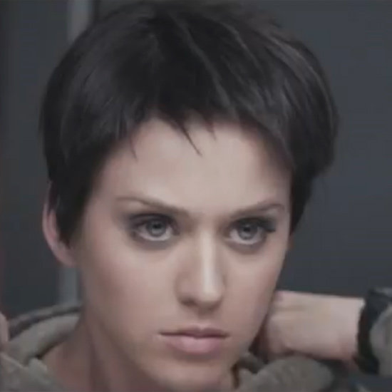 Katy Perry Cuts Her Hair into a Crop For Part of Me Video