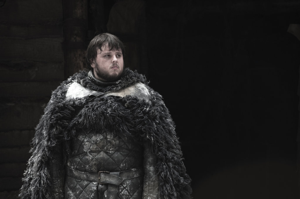 John Bradley as Samwell Tarly on Game of Thrones.  Photo courtesy of HBO