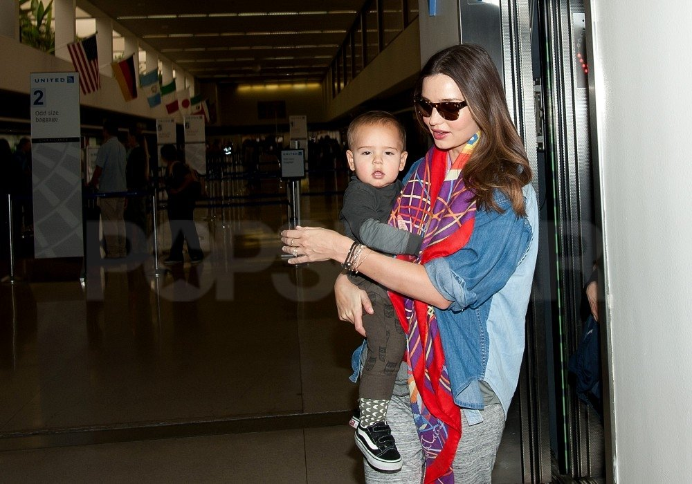 Flynn and Miranda Return Home Following a Big Apple Stay