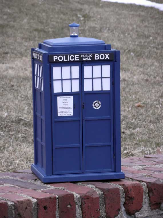 TARDIS Wooden Box ($200)