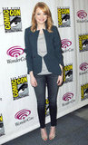 Emma Stone perfected casual-chic at WonderCon.