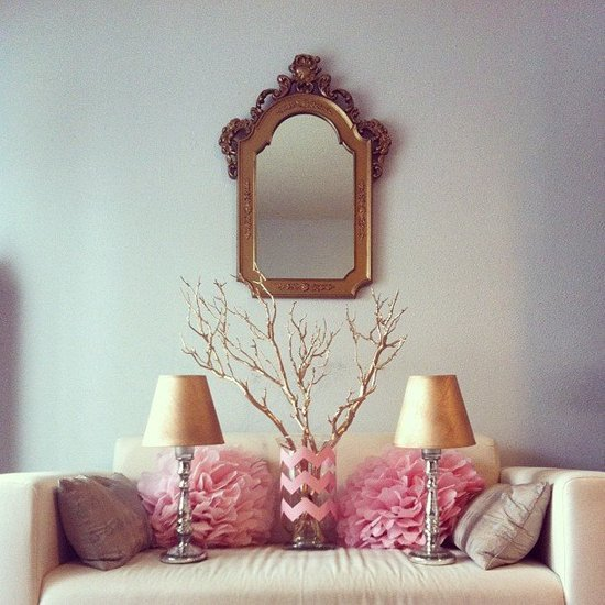 Pink and Gold Party Decor DIYs