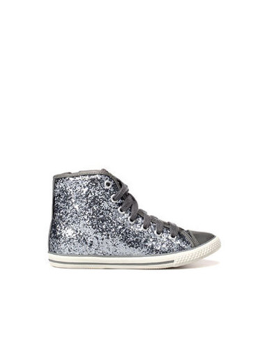 GLITTER HIGH-TOP SNEAKER - High-top Sneaker - Shoes - Girl (2-14 years) - Kids - ZARA United States