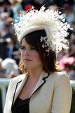 Princess Eugenie attends Ladies Day at Royal Ascot racecourse on June 19, 2008.
