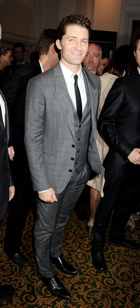 Matthew Morrison at the Jameson Empire Awards in London.