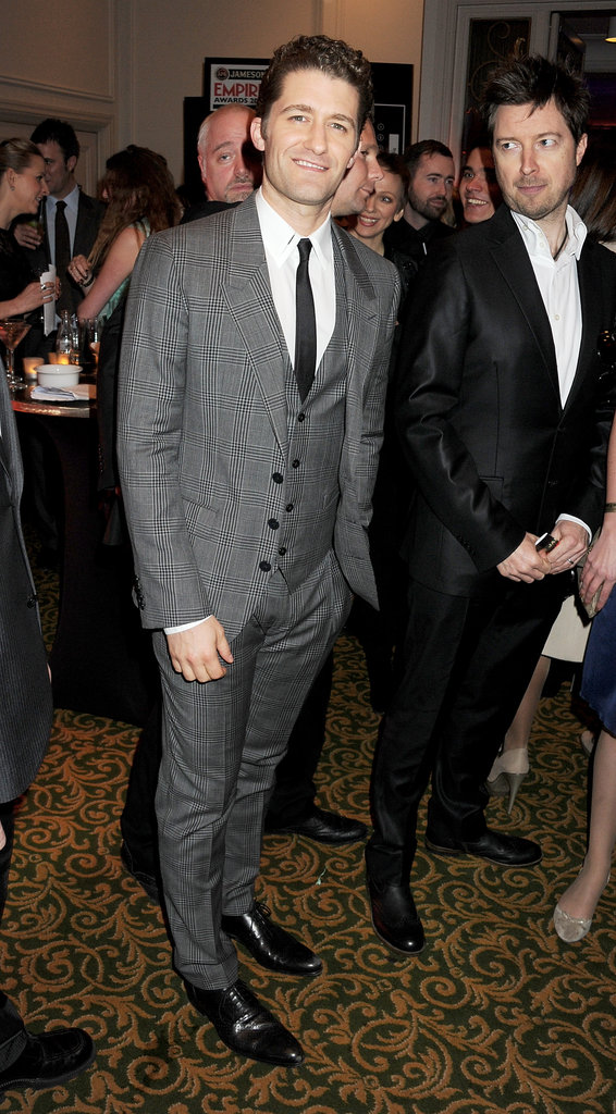 Matthew Morrison attends the Jameson Empire Awards in London.