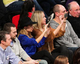 Nicole Richie and David Beckham Log a Night With the Lakers