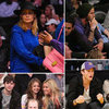 Nicole Richie Lakers Game Pictures